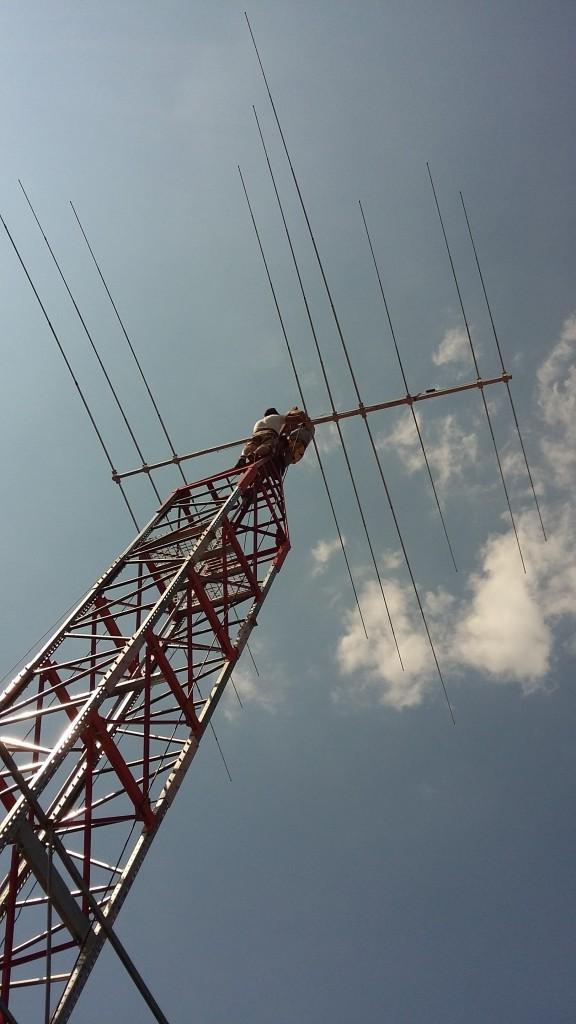 pilonul cu antena