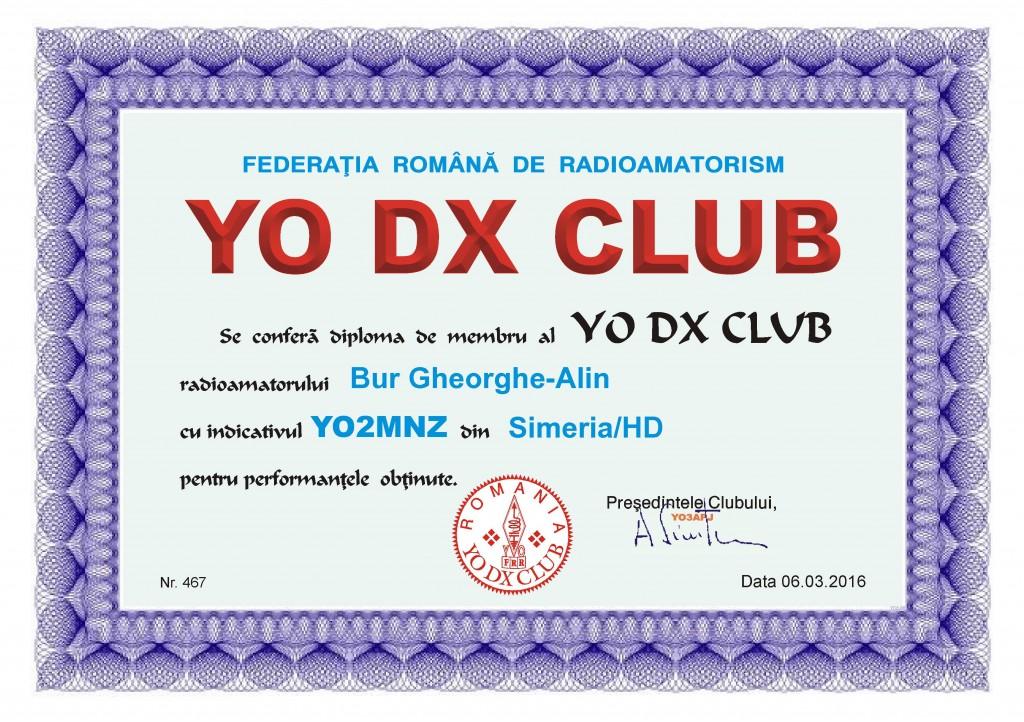 YO DX Club membru 2016 YO2MNZ 467 (1)