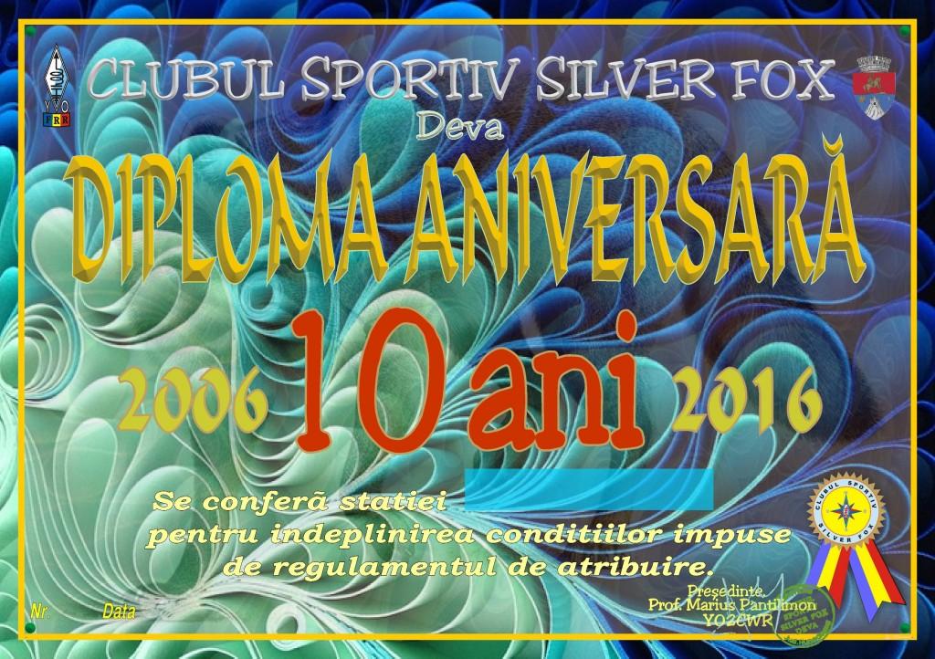Diploma aniversara 10 ani silver fox (5)